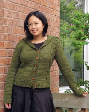 Cosmicpluto Knits Patterns - B-Side Cardigan Pattern