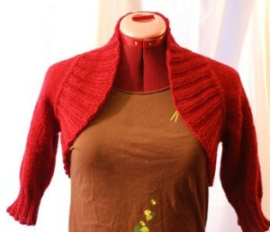 Cosmicpluto Knits Patterns - Top-Down Shoulder Warmer Pattern