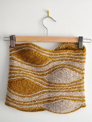 Cosmicpluto Knits Patterns - Turbulence Cowl Pattern