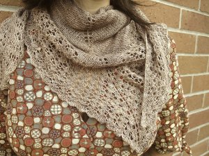 Madelinetosh Prairie Crashing Waves Shawlette Kit - Scarf and Shawls