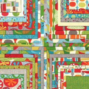 Jenn Ski Mod Century Precuts Fabric - Jelly Roll