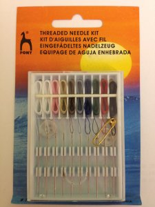 Pony Threaded Needle Kit - Threaded Needle Kit