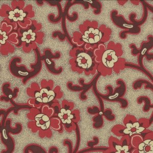 French General Chateau Rouge Fabric - Toussaint - Roche (13623 13)