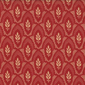 French General Chateau Rouge Fabric - Nanette - Roche (13626 16)
