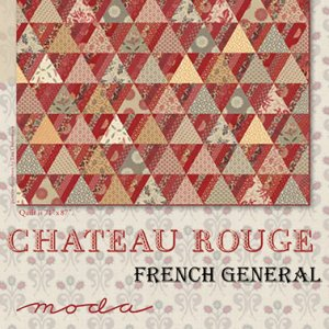 French General Chateau Rouge Quilt Pattern