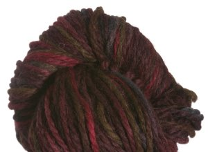 Misti Alpaca Hand Paint Chunky Yarn - 42 -  Chocolate Garnet (Discontinued)