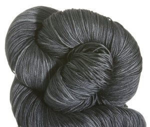 Fyberspates Pure Silk 4ply Yarn - Charcoal