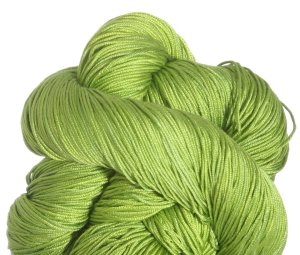Fyberspates Pure Silk 4ply Yarn - Chartreuse