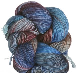 Araucania Nuble Yarn - 08 - Turq, Peach, Blue
