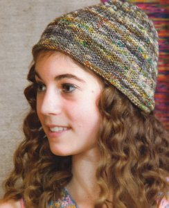 Koigu KPPPM Garter Stitch Rib Beanie Kit - Hats and Gloves