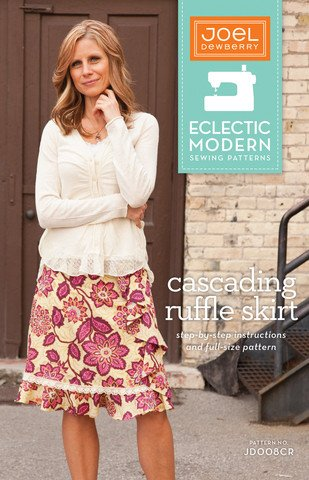 Joel Dewberry Eclectic Modern Sewing Patterns - Casading Ruffle Skirt Pattern