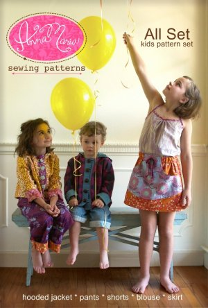 Anna Maria Horner Anna Maria Sewing Patterns - All Set Kids Pattern Set Pattern