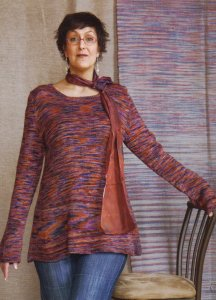 Koigu KPPPM Cragwood Tunic Kit - Women's Pullovers