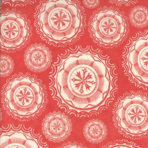 Julie Comstock Odds And Ends Fabric - Spare Change - Rosebud (37043 21)