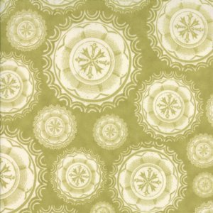 Julie Comstock Odds And Ends Fabric - Spare Change - Leaf (37043 24)
