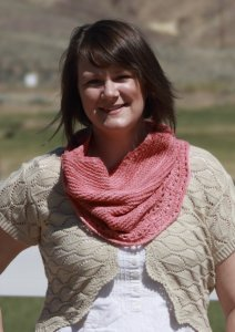 Sweet Grass Wool Mountain Silk DK Sierra Sunset Cowl Kit - Scarf and Shawls