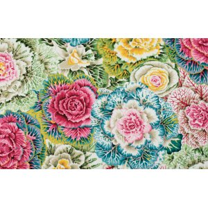 Philip Jacobs Brassica Fabric - Pastel