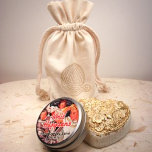 Alsatian Soaps & Bath Products Knitter's Hands Gift Bag