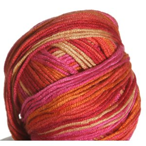 Sirdar Smiley Stripes Yarn - 254 Tangerine Dream