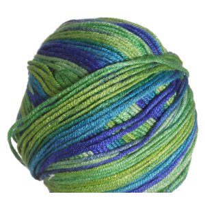 Sirdar Smiley Stripes Yarn - 256 Giggly Green