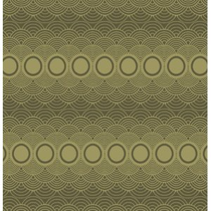 Parson Gray Seven Wonders Fabric - Clouds - Moss