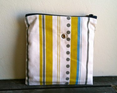 Top Shelf Totes Yarn Pop - Single - Green Dots and Stripes