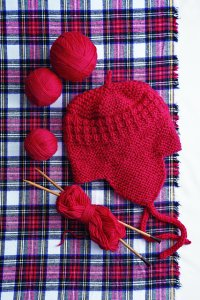 Stitch Nation Washable Ewe Knit Red Snowboarder Hat Kit - Hats and Gloves