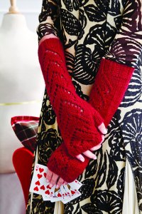 Stitch Nation Washable Ewe Knit Red Heart Motif Mitts Kit - Hats and Gloves