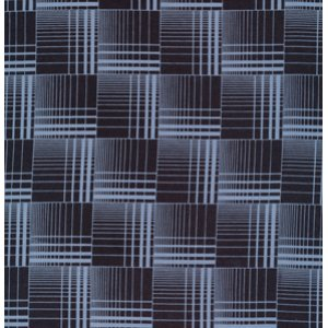 Denyse Schmidt Greenfield Hill Fabric - Griswold Plaid - Blueberry