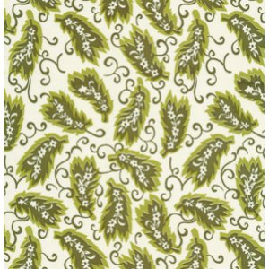 Denyse Schmidt Greenfield Hill Fabric - Ladies League - Dogwood