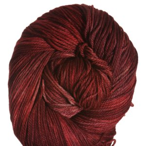 All For Love Of Yarn Opulence Fingering Yarn - Smoldering Red