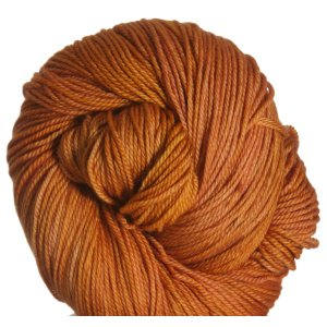 All For Love Of Yarn Opulence Fingering Yarn - Citrus Orange