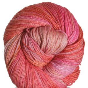 All For Love Of Yarn Opulence Fingering Yarn - Dawn Pink