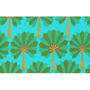 Kaffe Fassett Palm Fan Fabric - Green