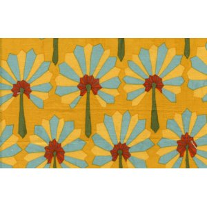 Kaffe Fassett Palm Fan Fabric - Ochre