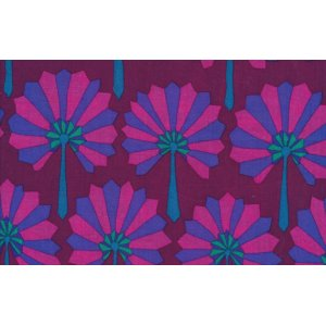 Kaffe Fassett Palm Fan Fabric - Purple