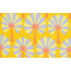 Kaffe Fassett Palm Fan Fabric - Yellow