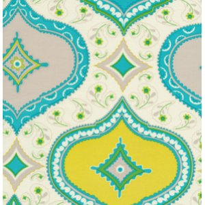Dena Designs Kumari Garden Fabric - Chandra - Blue