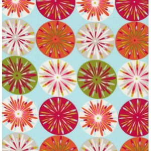 Dena Designs Kumari Garden Fabric   Sashi   Ice