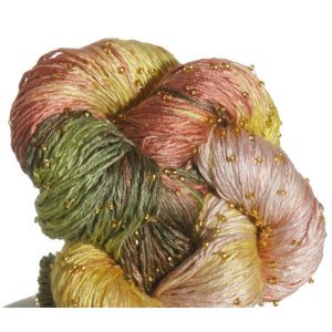 Artyarns Beaded Silk Light Yarn - '12 Holiday Collection - JB1 w/Gold