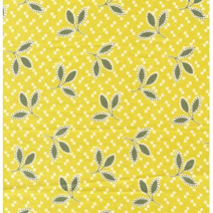 Denyse Schmidt Hope Valley Fabric - Thistle Leaf - Piney Woods