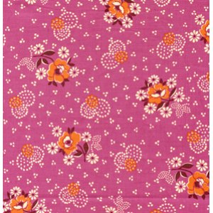 Denyse Schmidt Hope Valley Fabric - Wall Flower - Fiesta