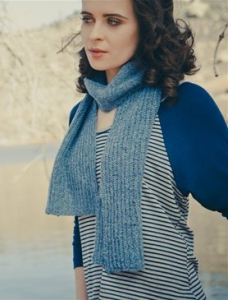Rowan Fine Tweed Hull Scarf Kit - Scarf and Shawls