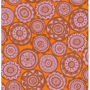 Erin McMorris Summersault Fabric - Cartwheel - Blush