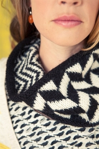 Cascade Eco Alpaca Equilibrium Cowl Kit - Scarf and Shawls