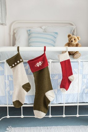 Churchmouse at Home Patterns - Basic Christmas Stockings