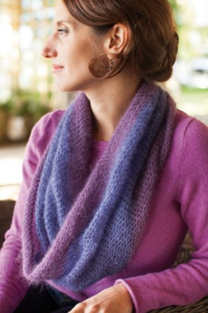 Churchmouse Classics Patterns - Crocheted Moebius Cowl Pattern