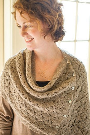 Churchmouse Classics Patterns - Smocked Lace Wrap & Shrug Pattern