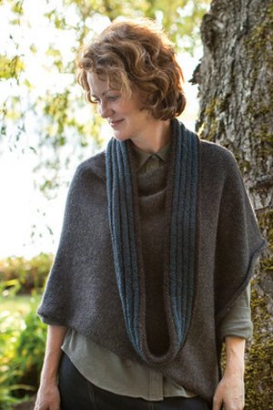Churchmouse Classics Patterns - Welted Cowl & Infinity Loop Pattern