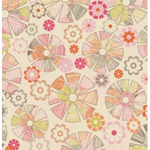 Jenean Morrison In My Room Fabric - Lazy Afternoon - Pink